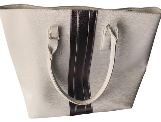 JustFab Tote in White Image 0