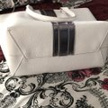 JustFab Tote in White Image 6