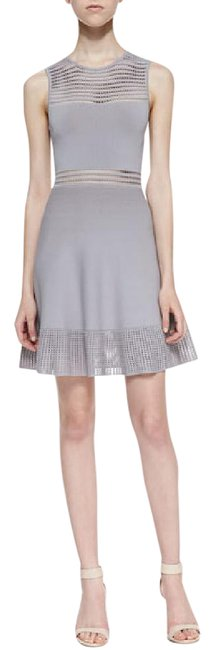 Preload https://img-static.tradesy.com/item/21535458/torn-by-ronny-kobo-gray-mabel-fit-and-flare-short-casual-dress-size-2-xs-0-2-650-650.jpg