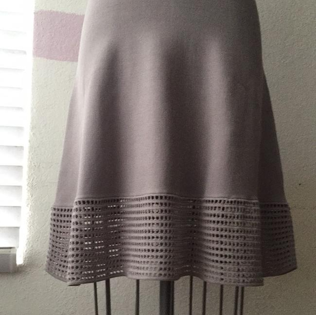 Torn by Ronny Kobo short dress gray Fit And Flare Knit Open Knit on Tradesy Image 3