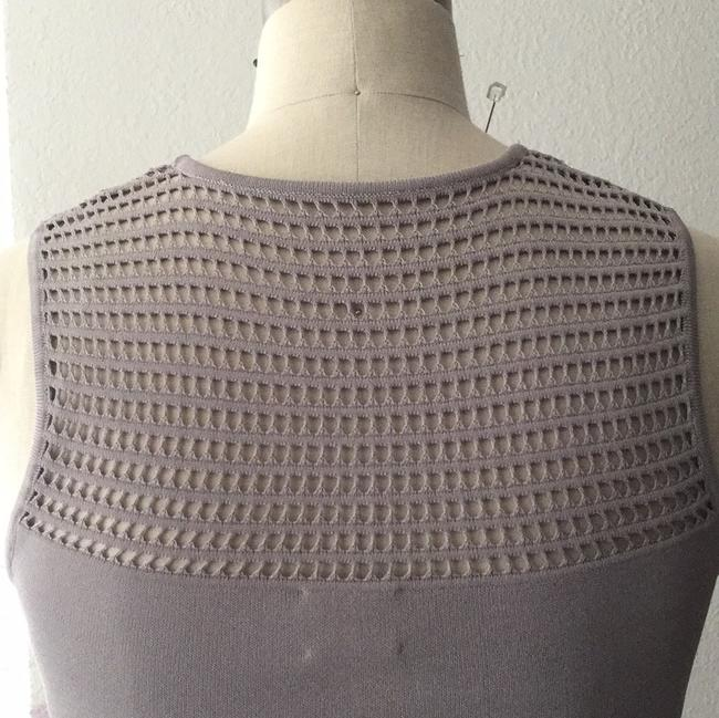 Torn by Ronny Kobo short dress gray Fit And Flare Knit Open Knit on Tradesy Image 7