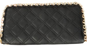 Other black gold chain wallet