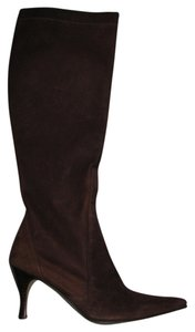 Cole Haan Dark Brown suede Boots