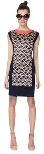The Webster at Target short dress navy/coral on Tradesy
