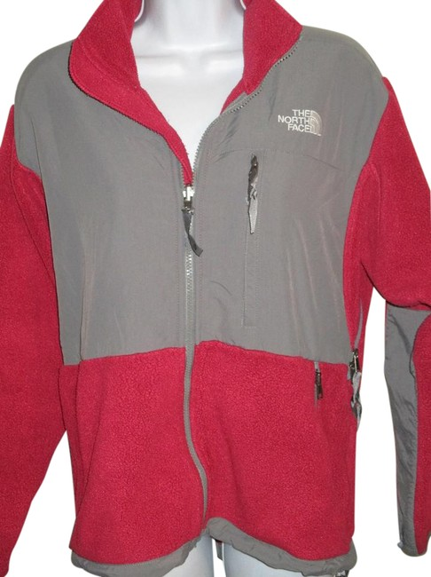 Item - Red and Gray Denali Jacket Size 10 (M)