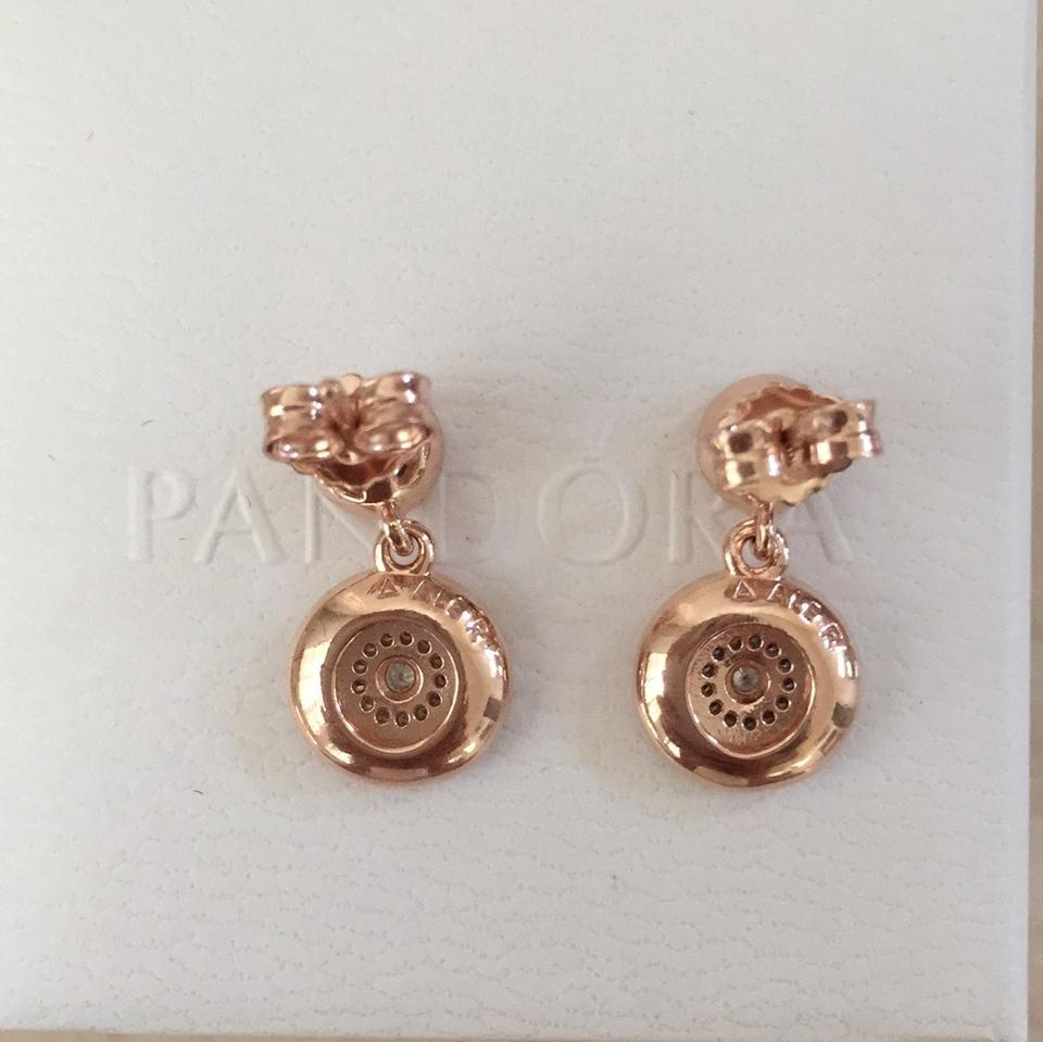 Pandora Drop Earrings: PANDORA Radiance Elegance Drop Earrings
