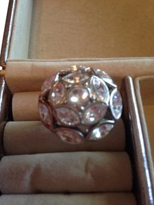 Other Beautiful Silver Ring With Marquis Shaped Stones