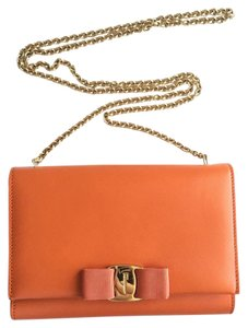 4096f7328fc9 Orange Salvatore Ferragamo Cross Body Bags - Up to 90% off at Tradesy