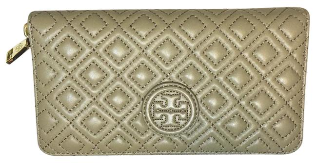 Item - Grey Marion Quilted Multi-gusset Zip Continental French Wallet