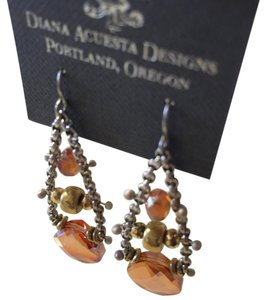 Diana Acuesta Designs Chain Drop Earrings