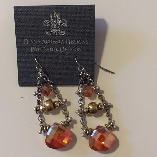 Diana Acuesta Designs Chain Drop Earrings Image 2