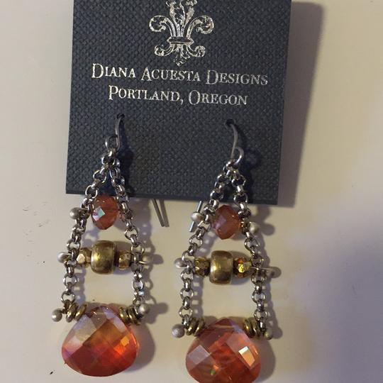 Diana Acuesta Designs Chain Drop Earrings Image 3