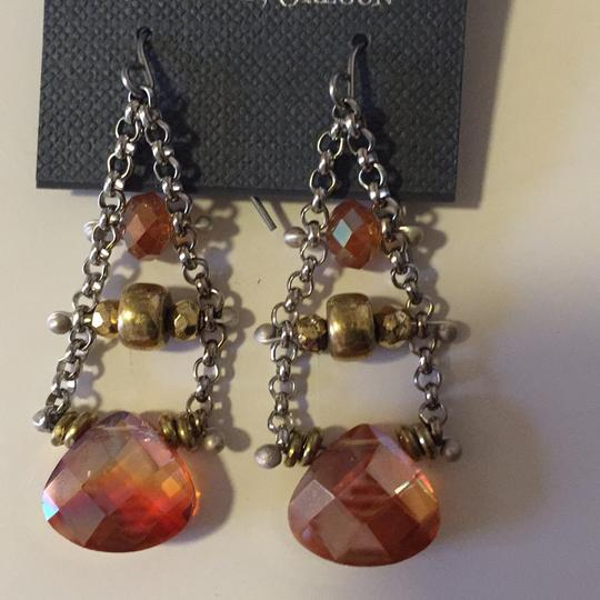 Diana Acuesta Designs Chain Drop Earrings Image 5