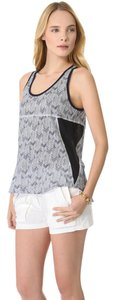 A.L.C. Sleeveless Cotton Printed Top blue
