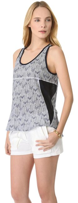 A.L.C. Sleeveless Cotton Printed Top blue Image 0