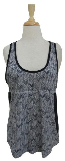 A.L.C. Sleeveless Cotton Printed Top blue Image 1