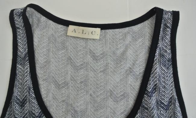 A.L.C. Sleeveless Cotton Printed Top blue Image 4