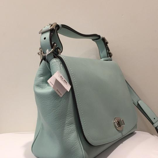 Coach Satchel in Mint green Image 1