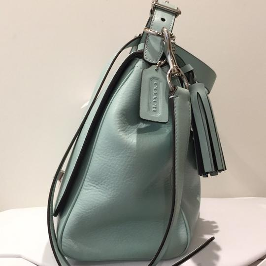 Coach Satchel in Mint green Image 2