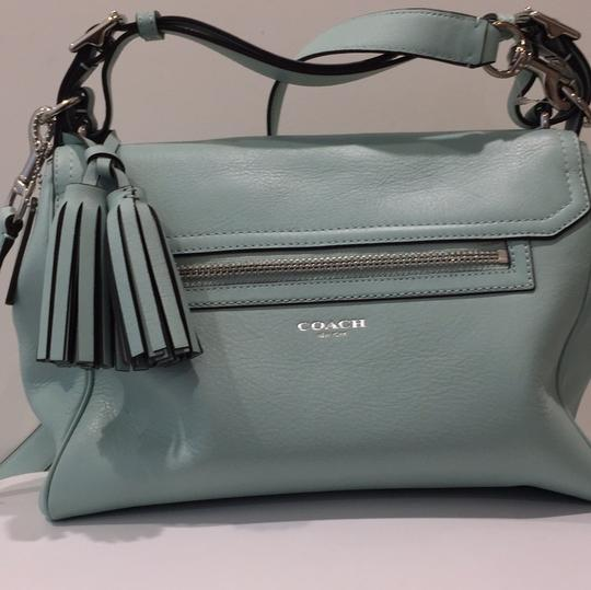 Coach Satchel in Mint green Image 3