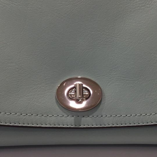 Coach Satchel in Mint green Image 8