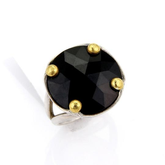 Preload https://img-static.tradesy.com/item/21537259/gurhan-20799-rose-cut-black-spinal-sterling-24k-gold-round-top-ring-0-0-540-540.jpg