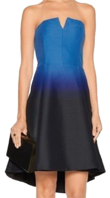 Preload https://img-static.tradesy.com/item/21537284/halston-faille-blue-ombre-strapless-short-cocktail-dress-size-0-xs-0-1-650-650.jpg