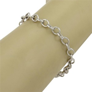 Tiffany & Co. Solid Platinum ALL Clasping Oval Link Bracelet