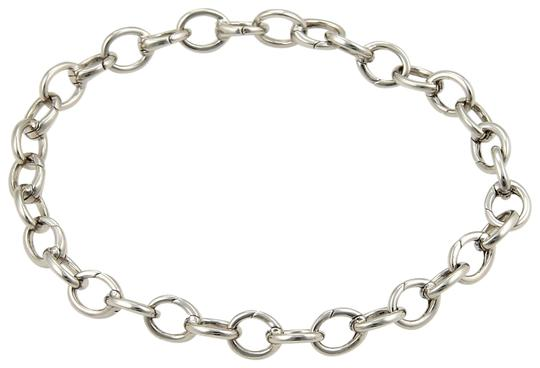 Tiffany & Co. Solid Platinum ALL Clasping Oval Link Bracelet Image 1
