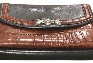 Brighton black & brown Clutch