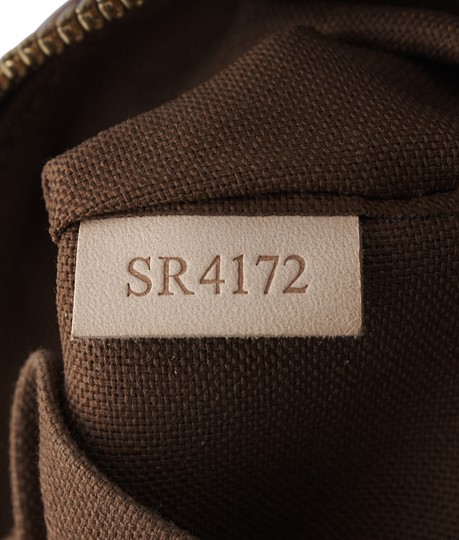 Louis Vuitton Coated Canvas Satchel in Brown Image 10
