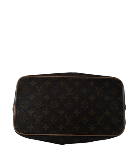 Louis Vuitton Coated Canvas Satchel in Brown Image 5