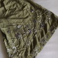 Green Embroidered Peasant Blouse Size 4 (S) Green Embroidered Peasant Blouse Size 4 (S) Image 7