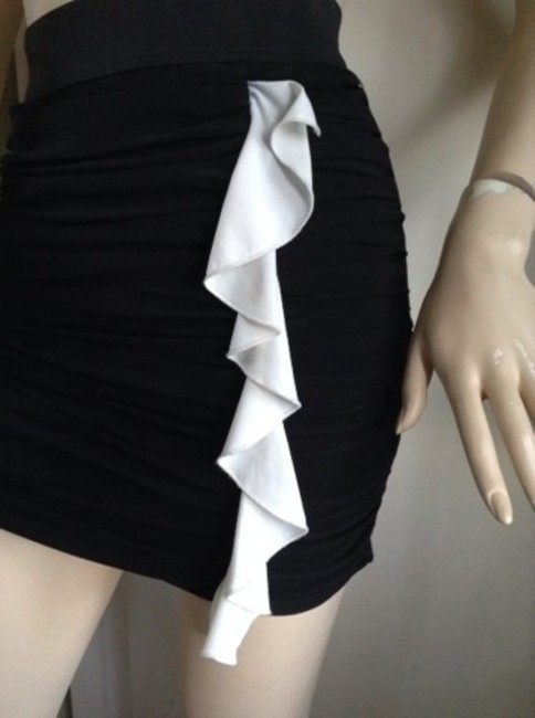 C.W. Designs Skirt Black Image 2