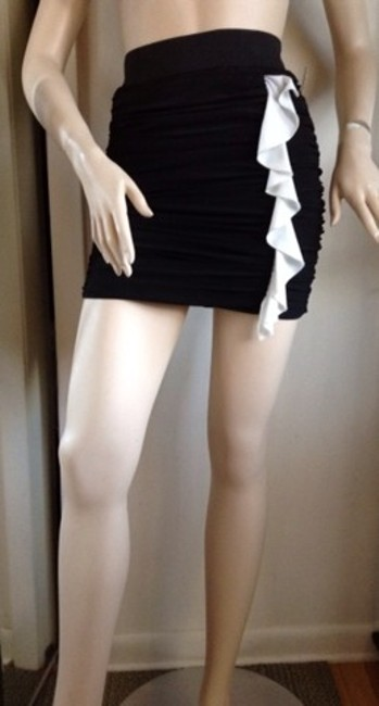 C.W. Designs Skirt Black Image 8
