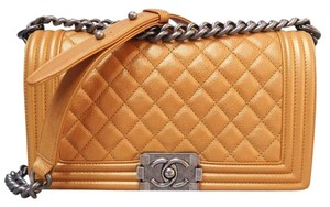 Chanel Medium Quilted Boy Shoulder Bag
