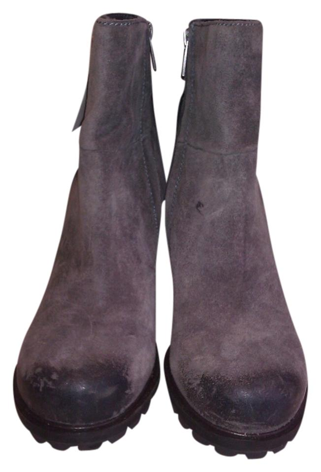 Sam Edelman Grey New 'franklin' Boots/Booties Brown Suede Leather Boots/Booties 'franklin' 3e2ac3