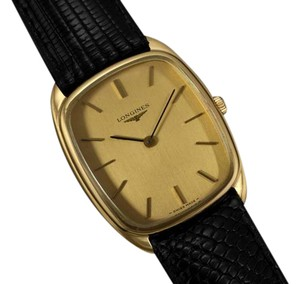Longines Longines Mens Classic Handwound Dress Watch - 18K Gold Plated & Stainl