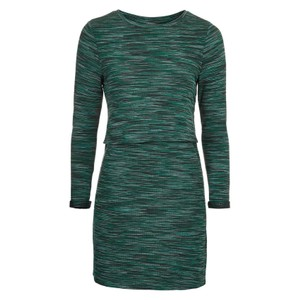 green Maxi Dress by Topshop Overlay Bodycon Back Out