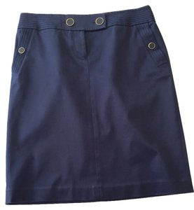 J.Crew Sailor Pockets Skirt Blue