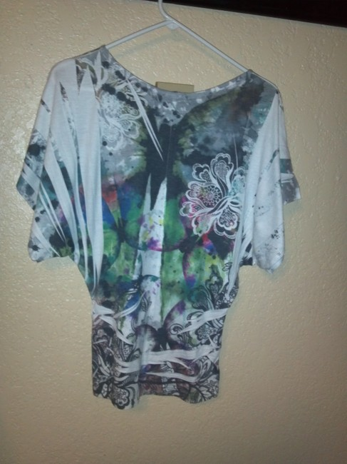 Maurices Top white/multi Image 4