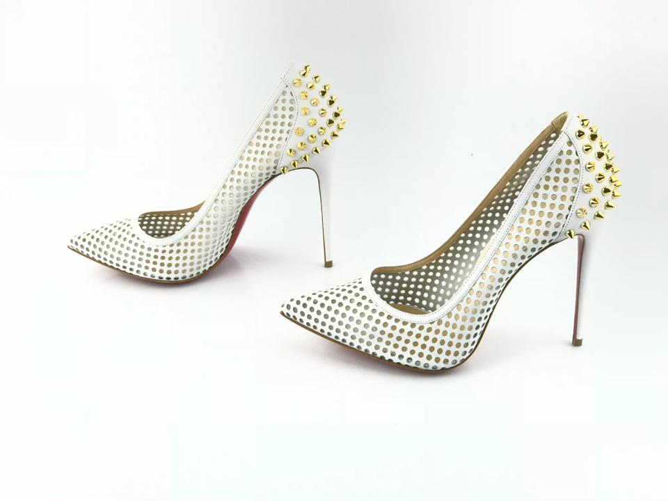 Pumps Gold Christian Guni Latte Version Louboutin 100 wwY6aHq