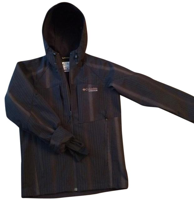 Item - Black/Brown Interchange Titanium Jacket Size 4 (S)