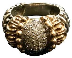 VAHAN Vahan 14kt Sterling Diamond Ring