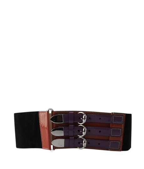 Preload https://img-static.tradesy.com/item/21539073/gucci-multi-color-suede-and-patent-leather-size-7530-124481-belt-0-0-540-540.jpg