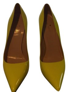 Kate Spade Neon Yellow Pumps
