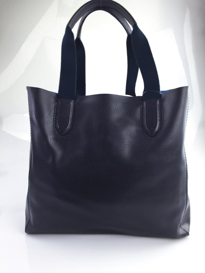 Coach Large Derby Midnight Lapis Tote Bag On Sale 50 Off