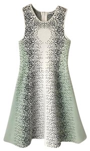 Opening Ceremony short dress Light Green/White/Black on Tradesy