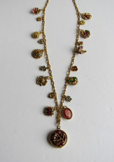 Joan Rivers Joan Rivers Complete 19 Piece Victorian Language of Flowers Necklace