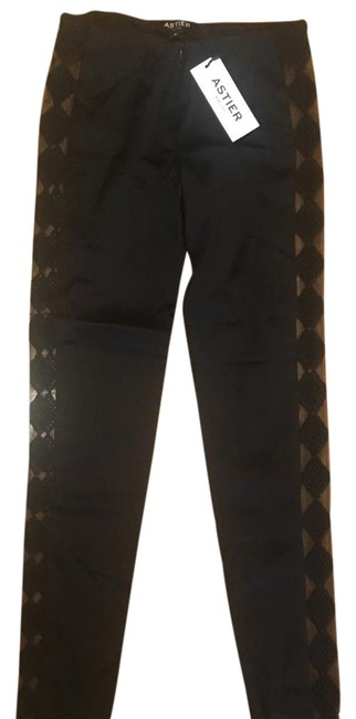 Astier New York Skinny Pants Black